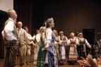 Lietutis performing a Lithuanian Star pattern, photo courtesy of Leszek Chudzinski