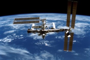Image of Intl. Space Station provided courtesy of NASA