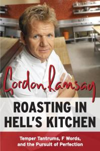book cover for Roasting in Hell's Kitchen