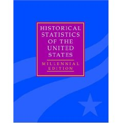 Historical Statistics of the United States cover