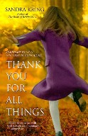thank you for all things by sandra kring book cover