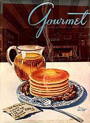 Vintage Gourmet Magazine Cover
