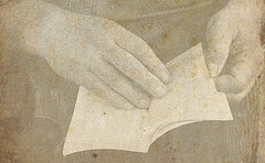 image of hands with book courtesy of bollaeszter via flickr