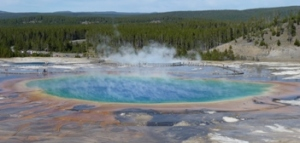Grand Prismatic Spring – Yellowstone NP – photo courtesy of Jay L.