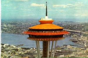 The Space Needle – in its orange glory