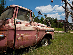 Image of pick up truck down south, courtesy of Bill Herndon, via Flickr