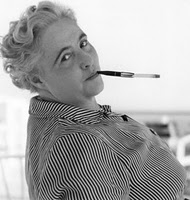 Margery Allingham in the 1950s