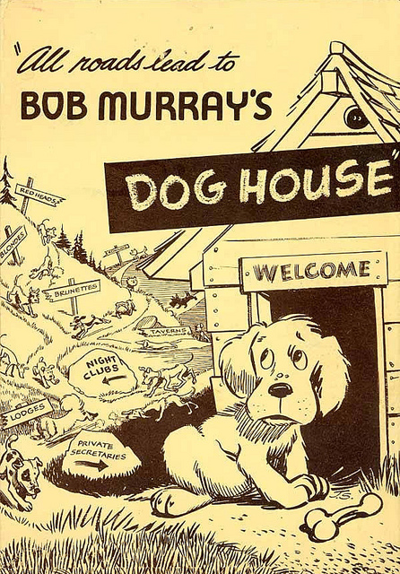 Menu from the Dog House
