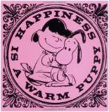 Happiness is a Warm Puppy, by Charles Schultz: we bet your family had a copy!