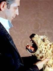 The canny Vasiliĭ Livanov sizes up the quarry as Sherlock Holmes.