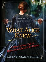 "Find ""What Alice Knew"" in the Seattle Public Library catalog."