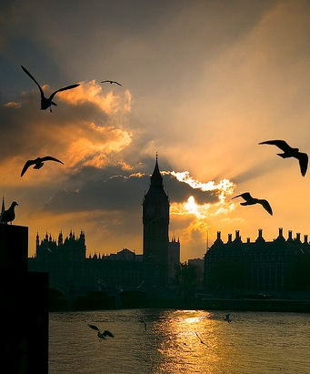 Image of Sunset over Parliament courtesy of MSH via Flickr.