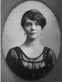 Dorothy L. Sayers in her college days.