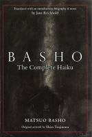 basho the complete haiku at SPL