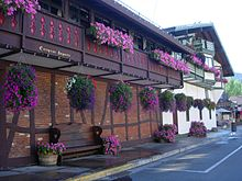 Leavenworth WA with flowers