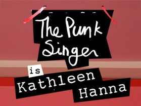 punk singer film poster