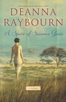 A Spear of Summer Grass book jacket