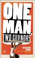 One Man Two Guvnors book jacket from SPL catalog