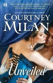 Unveiled book cover by Courtney Milan