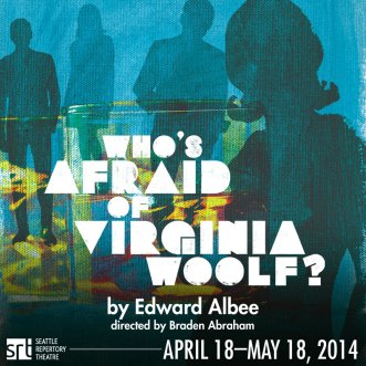 Who's Afraid of Virginia Woolf playbill