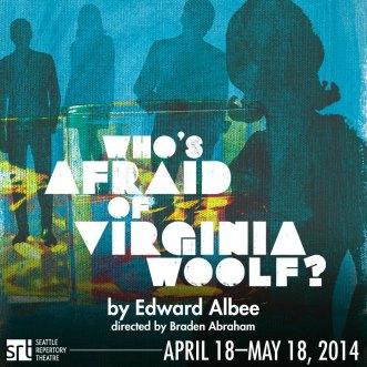 Who's Afraid of Virginia Woolf playbill