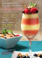 Anti-arthritis Anti-inflammation Cook Book cover image