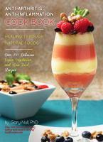 Anti-arthritis Anti-inflammation Cook Book cover image