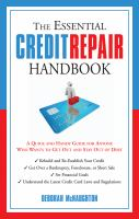 Essential Credit Repair Handbook cover image