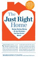 Just Right Home cover image