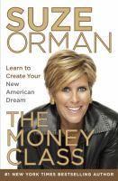 Suze Orman Money Class cover image
