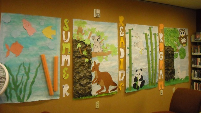 display at the Southwest Branch