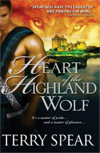 Heart of the Highland Wolf in the Library catalog