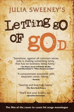 letting go of god
