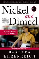 Click here to view Nickel and Dimed in the SPL catalog