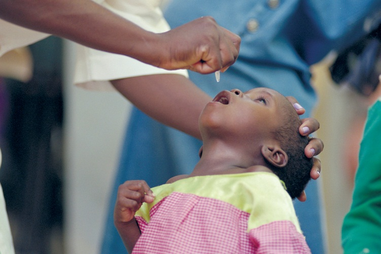 polio eradication WHO