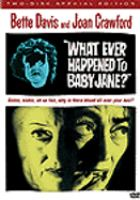 Whatever Happened to Baby Jane? (adult DVD)