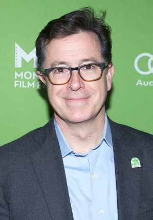 Stephen Colbert, as himself. (Image from wikipedia)