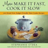 Cover art for Make It Fast, Cook It Slow