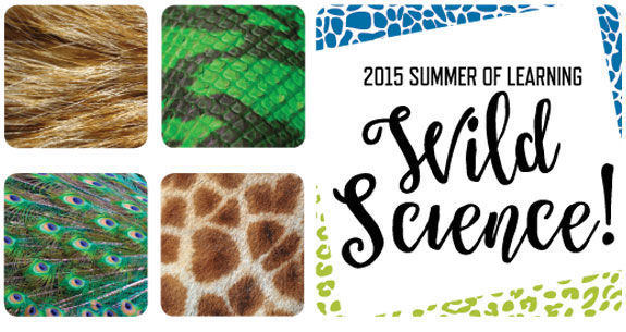 Click here to go to the Summer of Learning, Wild Science! website