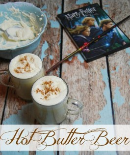 Image of Hot Butter Beer courtesy of thetiptoefairy.com. Click here to see the original recipe.