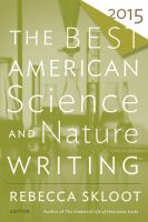 Best American Nature Writing