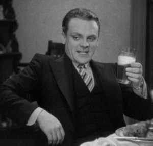 Jimmy Cagney with a Beer
