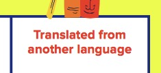 Translated from Another Language