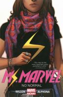 Cover image for Ms Marvel