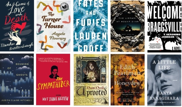 RAS top 10 novels of 2015