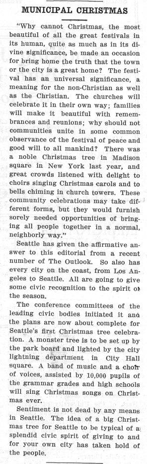 Seattle Municipal News, December 20, 1913