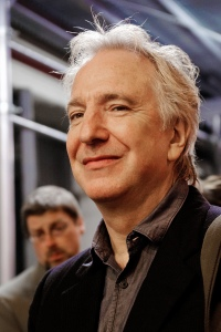 Alan Rickman. Image from Wikipedia.