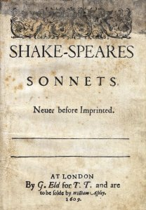 Sonnets1609titlepage