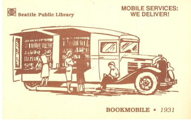Bookmobile 1931