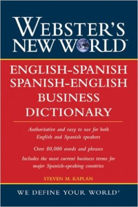 Webster's New World English-Spanish Business Dictionary